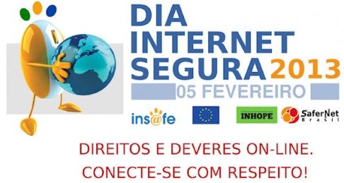 HOJE COMEMORA-SE O DIA MUNDIAL DA INTERNET SEGURA