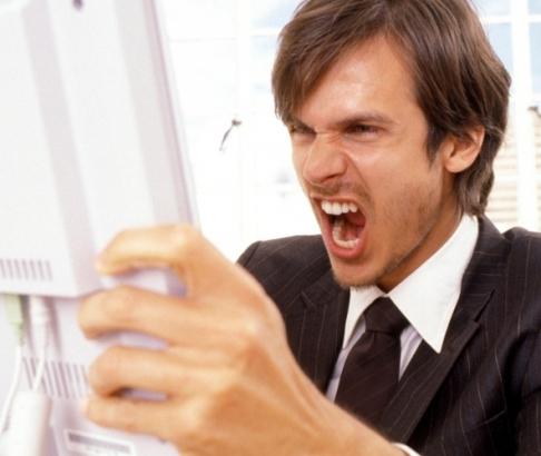 Expressar raiva via internet torna as pessoas mais nervosas