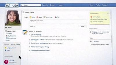 Parece Facebook, mas não é: são as redes educativas