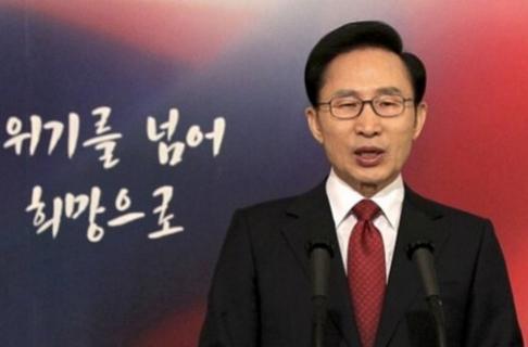 O presidente da Coreia do Sul, Lee Myung-Bak, apoia a mudança na lei