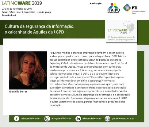 LGPD será discutida na Latinoware 2019