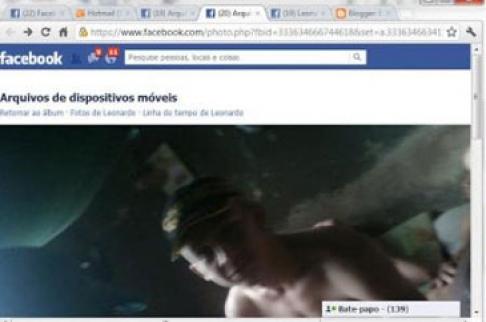 Detento utiliza celular dentro da cela para postar foto em rede social